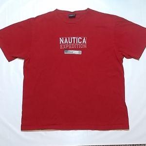 Nautica Vtg Nautica Expedition T-Shirt Tee